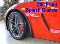 Z06 Front Splash Guard 1