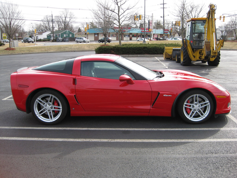 Z06 Front Splash Guard-installed-victory red-solaris-2