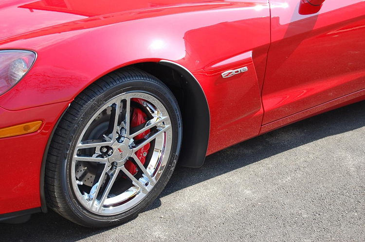 Z06 Front Splash Guard on victory red from philip defranco-3-750x563