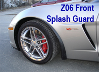 Z06 Front Splash Guard