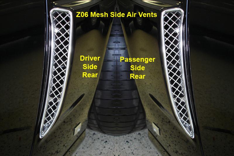 Z06 Mesh Brake Scoop-DR-prototype on black car-1-750x563