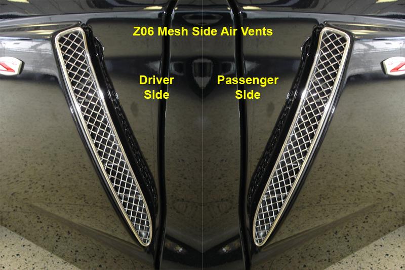 Z06 Mesh Side Air Vent black-individual-pair- 800