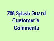 Z06 Splash Guard Customer Comment Icon 170x210 96p