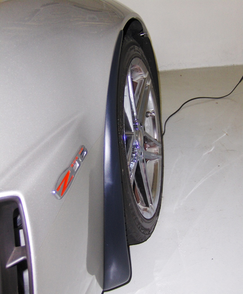 Z06 Splash Guard-installed on silver car from tommy-pf