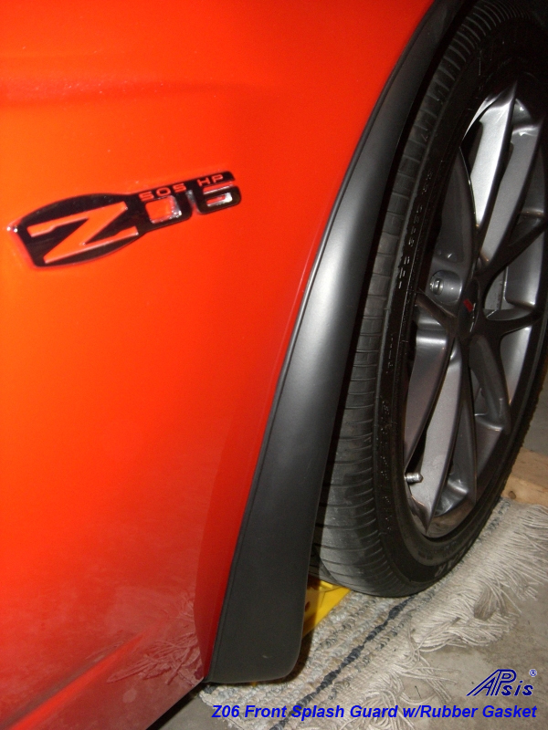 Z06 splash guard from rmp94 w-rubber gasket -2