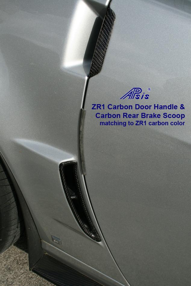 ZR1 Carbon Door Handle & Rear Brake Scoop-1