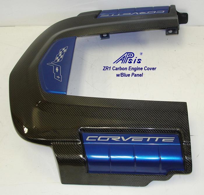 ZR1 Engine Cover w-blue panel w-o arrow-1