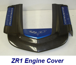 ZR1 Engine Cover w-blue panel w-o arrow-2 250