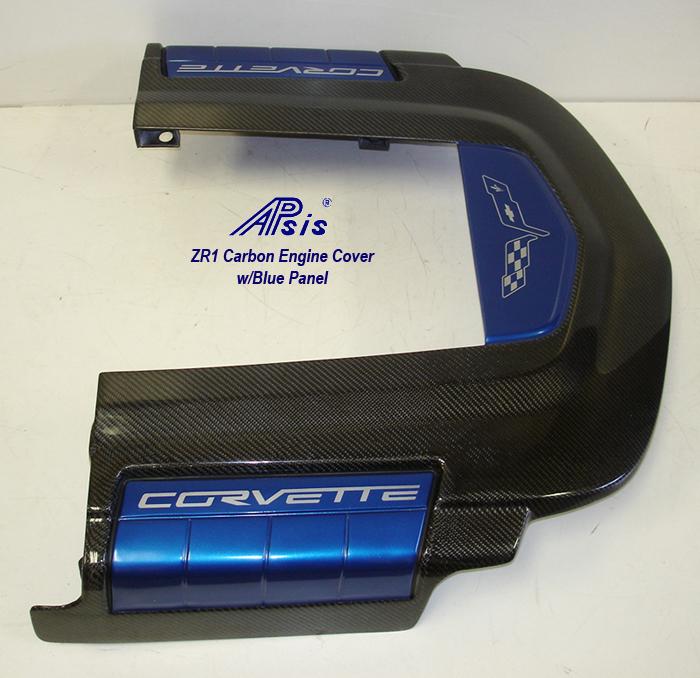 ZR1 Engine Cover w-blue panel w-o arrow-3