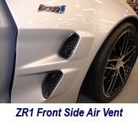 ZR1 Front Side Air Vent-1