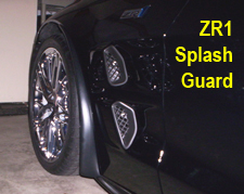 ZR1 Front Splash Guard 225