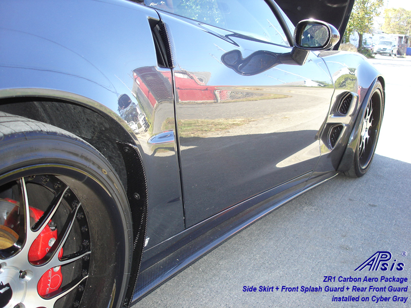 ZR1 Side Skirt-carbon-installed w-carbon guards-pass-1