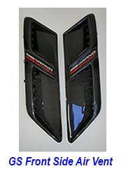 gs front side air vent 250
