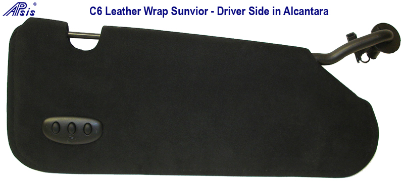sunvisor Driver side - 800 in Alcantara